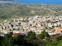 la città vista dal monte Bonifato - 8 dicembre 2006   - Alcamo (1054 clic)