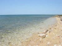 la trasparenza del mare ed il litorale verso nord - 25 maggio 2008  - Marausa lido (3043 clic)