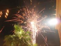 notte di capodanno in piazza Ciullo - spettacolo pirotecnico - 1 gennaio 2009  - Alcamo (2993 clic)
