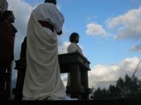 Processione della Via Crucis con gruppi statuari viventi - 5 aprile 2009   - Buseto palizzolo (1741 clic)