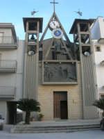 Piazza S. Francesco di Paola - Chiesa - 15 marzo 2009   - Salemi (1876 clic)