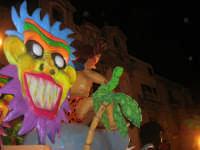 Carnevale 2008 - Sfilata Carri Allegorici lungo il Corso VI Aprile - 2 febbraio 2008   - Alcamo (795 clic)