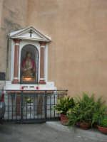 Ecce Homo (restaurato nel mese di maggio del 2007) - Cappella all'esterno della Chiesa Maria SS. delle Grazie - 3 settembre 2008  - Torretta (1567 clic)