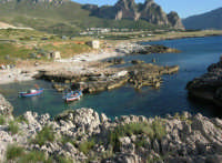 Macari - l'Isulidda - panorama - 20 maggio 2007  - San vito lo capo (872 clic)