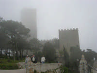 Torri medievali avvolte dalla foschia - 1 maggio 2009   - Erice (1791 clic)