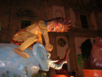 Carnevale 2008 - Sfilata Carri Allegorici lungo il Corso VI Aprile - 2 febbraio 2008   - Alcamo (1115 clic)