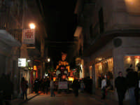 Carnevale 2008 - Sfilata Carri Allegorici lungo il Corso VI Aprile - 2 febbraio 2008   - Alcamo (675 clic)