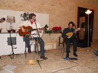 Concerto NAPOLINCANTO - Gianni Aversano (voce e chitarra), Ferdinando Piscopo (mandolino) - 10 dicembre 2009   - Alcamo (1712 clic)