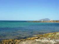 C/da Birgi Novo - costa e mare - all'orizzonte il monte Erice - 25 maggio 2008  - Marsala (755 clic)