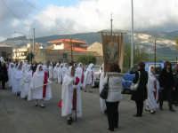 Processione della Via Crucis con gruppi statuari viventi - 5 aprile 2009   - Buseto palizzolo (1670 clic)
