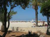 dal giardino pubblico la spiaggia - 8 agosto 2009   - San vito lo capo (1559 clic)