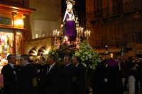 Venerdì Santo: processione del Cristo Morto e dell'Addolorata - piazza Ciullo - 21 marzo 2008   - Alcamo (710 clic)