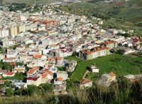 la città vista dal monte Bonifato - 8 dicembre 2006   - Alcamo (771 clic)