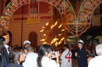Festeggiamenti Maria SS. dei Miracoli - Il Corteo dei Conti di Modica in Piazza Ciullo - 20 giugno 2008   - Alcamo (726 clic)