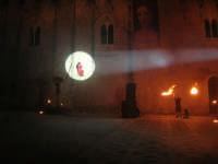 Festeggiamenti Maria SS. dei Miracoli - La Festa del Paradiso - L'Assalto al Castello - Piazza Castello - 20 giugno 2008  - Alcamo (512 clic)