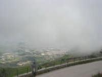 panorama con foschia dal monte Erice - 1 maggio 2009   - Erice (1744 clic)