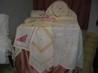Cene di San Giuseppe - ricami e lavori artistici tradizionali - 15 marzo 2009   - Salemi (2702 clic)