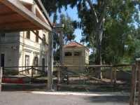 pista ciclabile (ex ferrovia) - ex stazione ferroviaria - 4 ottobre 2009   - Porto palo di menfi (7414 clic)
