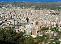la città vista dal monte Bonifato - 8 dicembre 2006   - Alcamo (1056 clic)