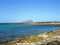 C/da Birgi Novo - costa e mare - all'orizzonte il monte Erice - 25 maggio 2008  - Marsala (756 clic)