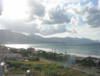panorama del Golfo di Castellammare, lato ovest - 10 agosto 2007  - Alcamo marina (886 clic)