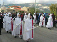 Processione della Via Crucis con gruppi statuari viventi - 5 aprile 2009   - Buseto palizzolo (1587 clic)