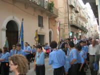 festeggiamenti in onore di Maria Santissima dei Miracoli, Patrona di Alcamo - Processione in corso 6 Aprile (corso stretto) - 21 giugno 2007  - Alcamo (1218 clic)