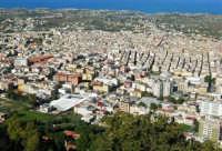 la città vista dal monte Bonifato - 8 dicembre 2006   - Alcamo (1127 clic)