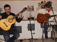 Concerto NAPOLINCANTO - Domenico De Luca (chitarra solista e percussione), Gianni Aversano (voce e chitarra) - 10 dicembre 2009   - Alcamo (1552 clic)