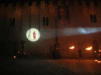 Festeggiamenti Maria SS. dei Miracoli - La Festa del Paradiso - L'Assalto al Castello - Piazza Castello - 20 giugno 2008  - Alcamo (678 clic)