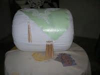 Cene di San Giuseppe - mostra di manufatti - pizzi e ricami - il tombolo - 15 marzo 2009   - Salemi (2578 clic)