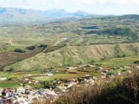 panorama dal monte Bonifato - 8 dicembre 2006   - Alcamo (888 clic)
