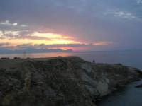 Spiaggia Maidduzza dopo il tramonto - 23 settembre 2007   - Terrasini (1717 clic)