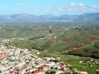panorama dal monte Bonifato - 8 dicembre 2006   - Alcamo (1260 clic)
