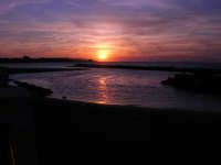 tramonto sul Lungomare Dante Alighieri - 18 settembre 2008   - Trapani (761 clic)