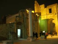 Cene di San Giuseppe - ruderi della Chiesa Madre - 15 marzo 2009  - Salemi (2367 clic)