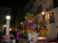 Carnevale 2008 - Sfilata Carri Allegorici lungo il Corso VI Aprile - 2 febbraio 2008   - Alcamo (800 clic)