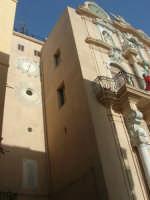 Torre dell'Orologio e particolare del Palazzo Senatorio - 25 maggio 2008  - Trapani (836 clic)