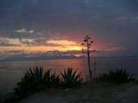 Spiaggia Maidduzza dopo il tramonto - 23 settembre 2007   - Terrasini (1496 clic)