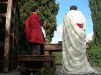 Processione della Via Crucis con gruppi statuari viventi - 5 aprile 2009  - Buseto palizzolo (1875 clic)
