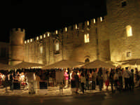Calici di Stelle - piazzale del Castello dei Conti di Modica - 10 agosto 2008   - Alcamo (759 clic)