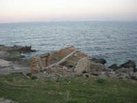 il mare alla tonnara - 24 febbraio 2008   - San vito lo capo (475 clic)