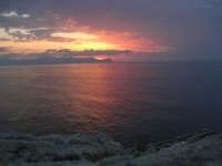 Spiaggia Maidduzza dopo il tramonto - 23 settembre 2007   - Terrasini (1348 clic)