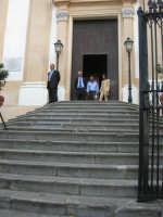 scalinata all'ingresso della Chiesa Maria SS. delle Grazie - 3 settembre 2008  - Torretta (3392 clic)