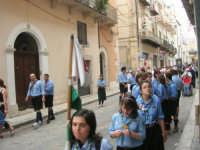 festeggiamenti in onore di Maria Santissima dei Miracoli, Patrona di Alcamo - Processione in corso 6 Aprile (corso stretto) - 21 giugno 2007  - Alcamo (950 clic)