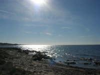 la costa - riflessi di sole sul mare - 27 gennaio 2008   - Marausa lido (6488 clic)