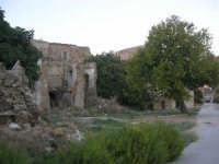 ruderi del paese distrutto dal terremoto del gennaio 1968 - 2 ottobre 2007  - Poggioreale (910 clic)