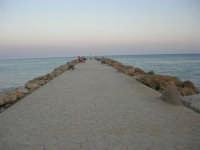 la passeggiata sul mare - 1 agosto 2007  - Marinella di selinunte (803 clic)