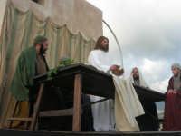 Processione della Via Crucis con gruppi statuari viventi - 5 aprile 2009     - Buseto palizzolo (1715 clic)