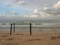 Zona Canalotto - il mare d'inverno - 8 febbraio 2009  - Alcamo marina (2858 clic)